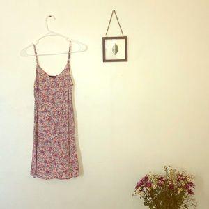 Floral mini dress!